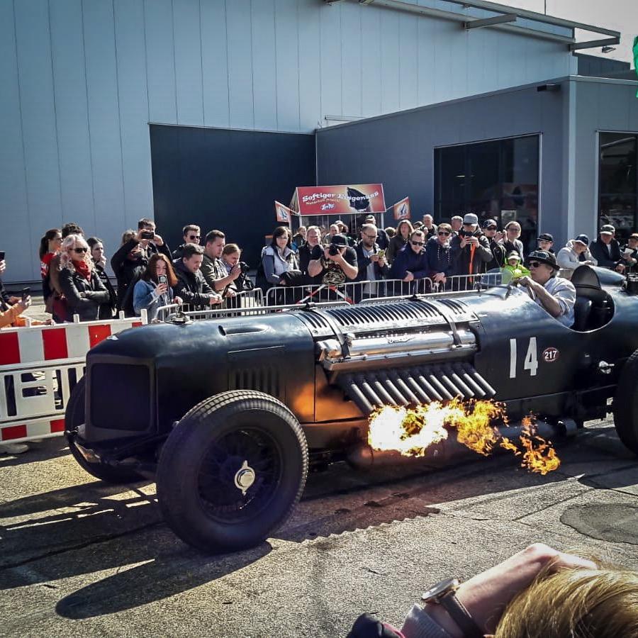 Packard Bentley Mavis 1930 Brazzeltag Technikmuseum Spexer