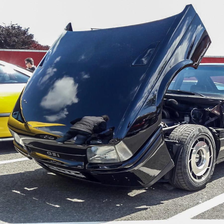 Flip Front Kadett Artz Corvette V8